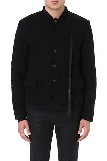 ANN DEMEULEMEESTER Quilted reversible jacket
