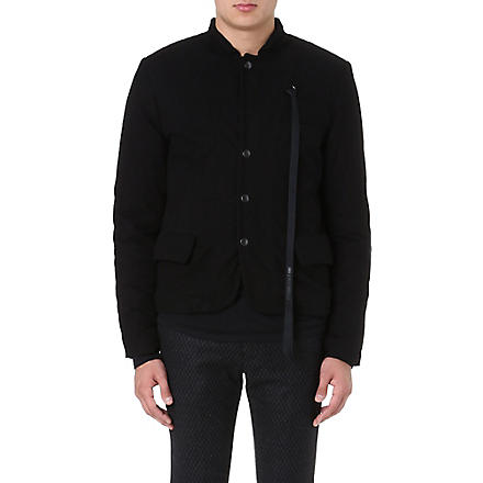 ANN DEMEULEMEESTER Quilted reversible jacket (Black