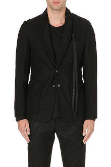 ANN DEMEULEMEESTER Floral lace-collar jacket