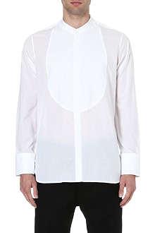 ANN DEMEULEMEESTER Tuxedo pleat shirt