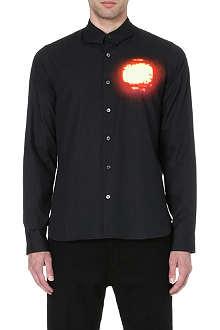 ANN DEMEULEMEESTER Spotlight print shirt