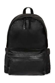 ANN DEMEULEMEESTER Leather backpack