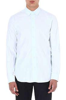 ANN DEMEULEMEESTER Rounded-collar shirt