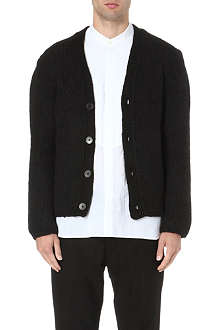 ANN DEMEULEMEESTER Chunky knitted cardigan