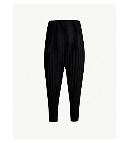 HOMME PLISSE ISSEY MIYAKE Balloon loose-fit pleated trousers (15