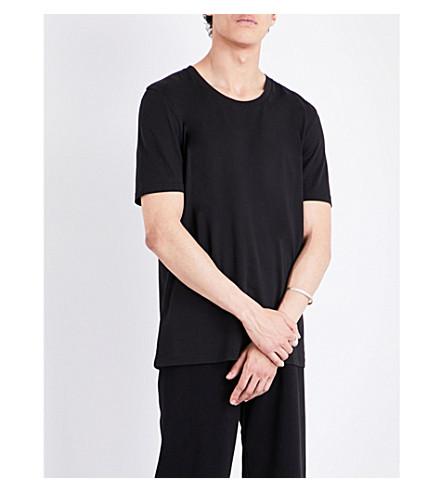 MAISON MARGIELA Crewneck cotton-jersey T-shirt (Black
