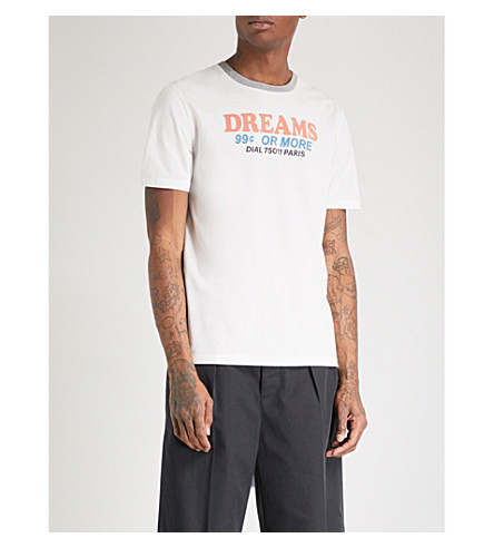 MAISON MARGIELA Dreams cotton-jersey T-shirt (Off+white