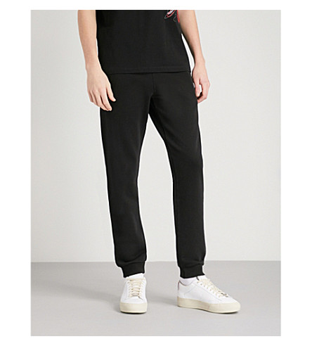 MAISON MARGIELA Skinny cotton-jersey jogging bottoms (Black