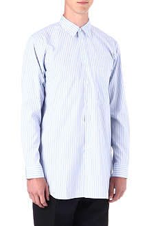 COMME DES GARCONS Oversized long striped shirt