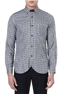JUNYA WATANABE Denim yoke check shirt