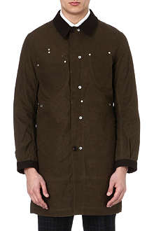 JUNYA WATANABE Multi-panel cotton coat