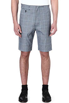 JUNYA WATANABE Jun check cinch back shorts