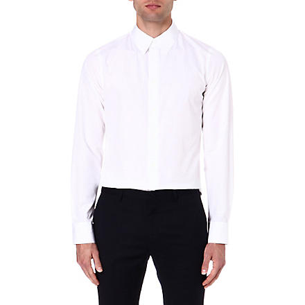 MARNI Slim-fit cotton shirt (White
