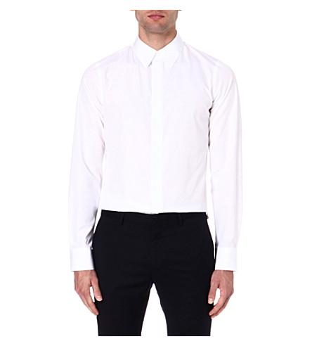 MARNI Slim-fit cotton shirt (White