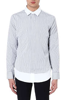 MARNI Double-layered cotton shirt