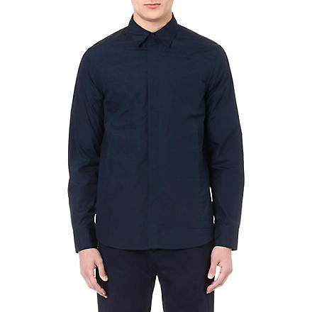 MARNI Quilted shirt (Navy