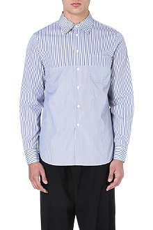 MARNI Broken stripe cotton shirt