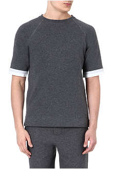 MARNI Paper cotton trim t-shirt