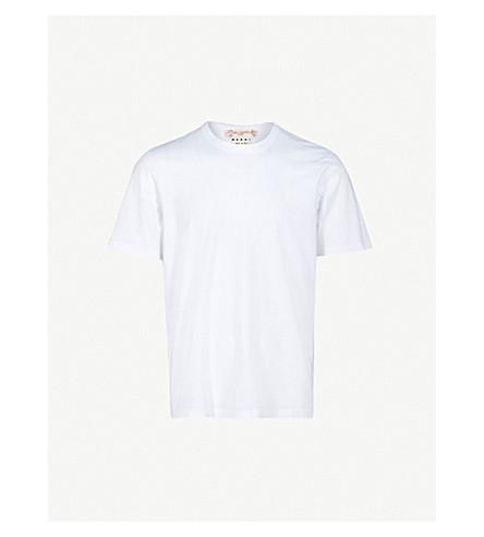 MARNI Sketch-print cotton-jersey T-shirt (White