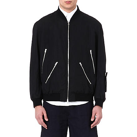 MARNI Oversized bomber jacket (Black