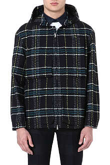 MARNI Hooded check jacket