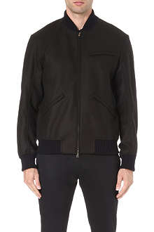 MARNI Wool-blend bomber jacket