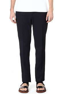 MARNI Pleated slim-fit trousers