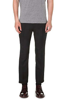 MARNI Slim-fit wool trousers