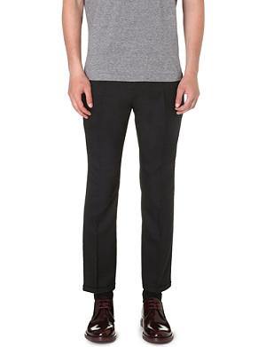 MARNI Slim-fit wool trousers