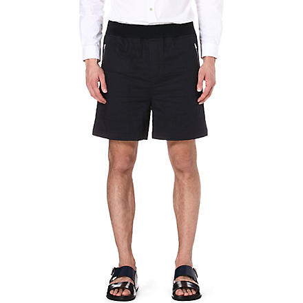 MARNI Quilted shorts (Navy