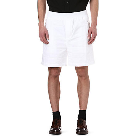 MARNI Quilted shorts (White