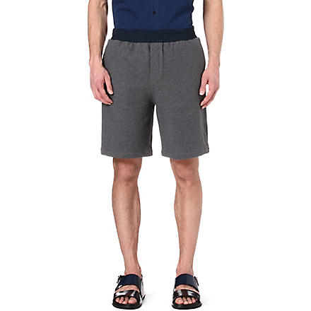 MARNI Multi-pocket sweat shorts (Grey