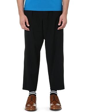 MARNI Wide-leg drawstring trousers