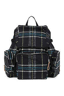 MARNI Checked backpack