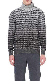 MISSONI Roll-neck patterned jumper