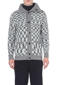 MISSONI Patterned wool-blend cardigan