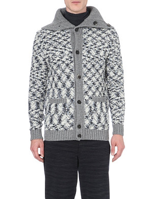 MISSONI Patterned wool-blend cardigan
