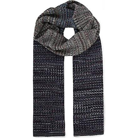 MISSONI Faded colour scarf (Multi