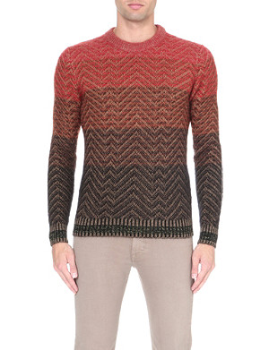 MISSONI Patterned knitted jumper