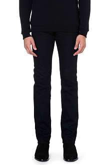 SAINT LAURENT Skinny mid-rise stretch-denim jeans