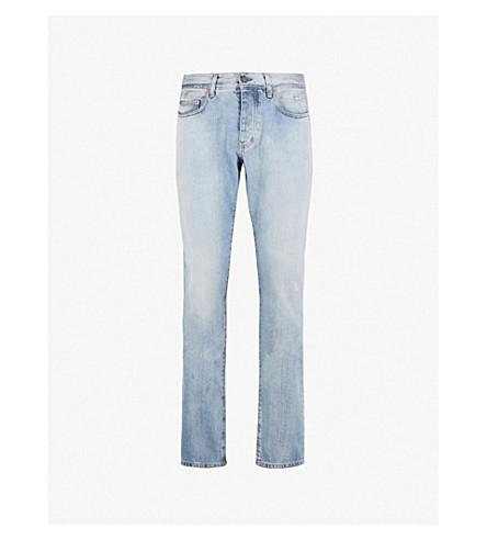 SAINT LAURENT Slim-fit tapered jeans (Blue
