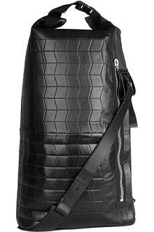 LANVIN Quilted leather backpack