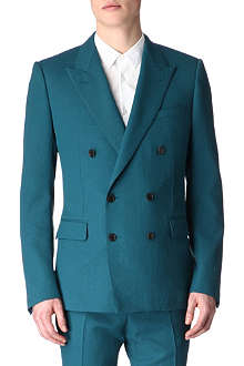 LANVIN Double-breasted peak-lapel blazer