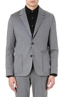 LANVIN Jersey single-breasted blazer