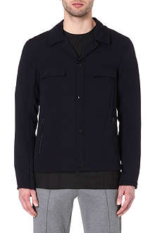 LANVIN Zip-detailed overshirt