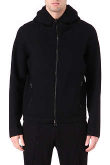 LANVIN Sport hooded bomber jacket