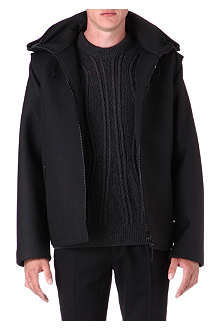 LANVIN Hooded bomber jacket