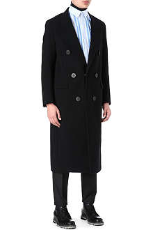 LANVIN Long double-breasted overcoat