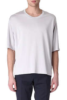 LANVIN Panelled-detail t-shirt