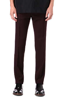 LANVIN Slim sports trousers